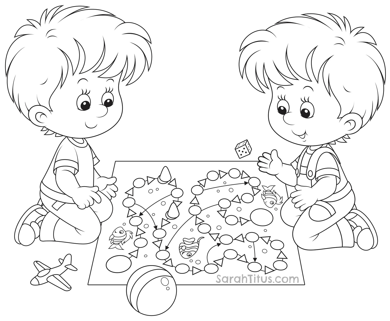 Coloring games to play - View Larger Image Image